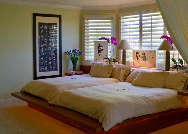 asian designs. 15 Charming Bedrooms with Asian Influence   Home Design Lover