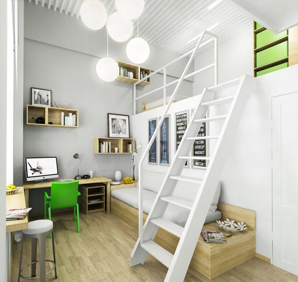 Working area. 20 Ingenious Workspaces for Teenage Boys   Home Design Lover