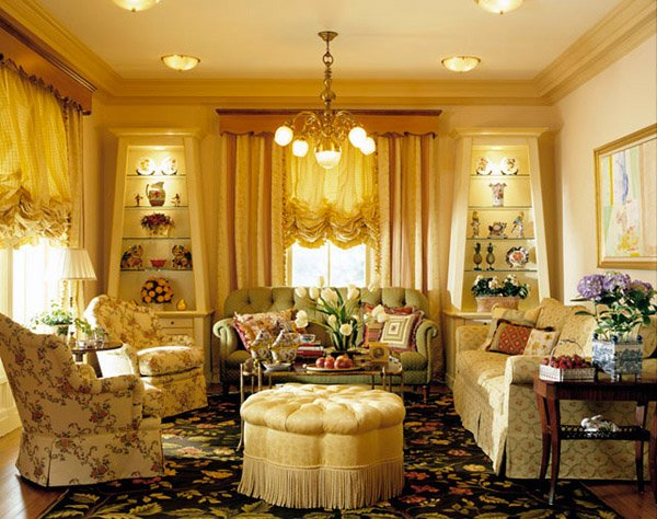15 Warm And Cozy Country Inspired Living Room Design Ideas | Home