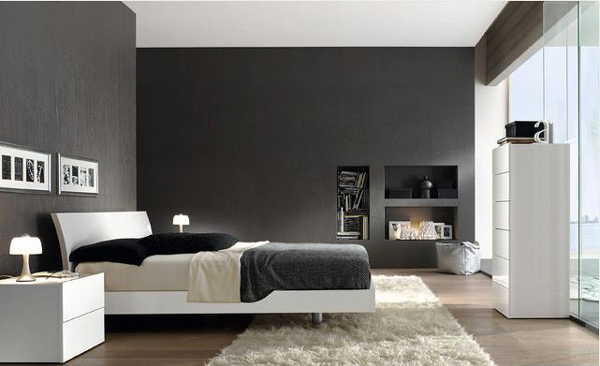 Europeo Black and Clear Bedroom. 16 Classy Black and White Bedroom Designs   Home Design Lover