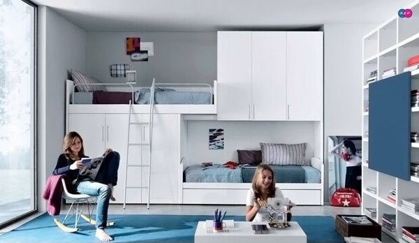 Girl Room For Two