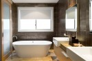 brown bathroom ideas design