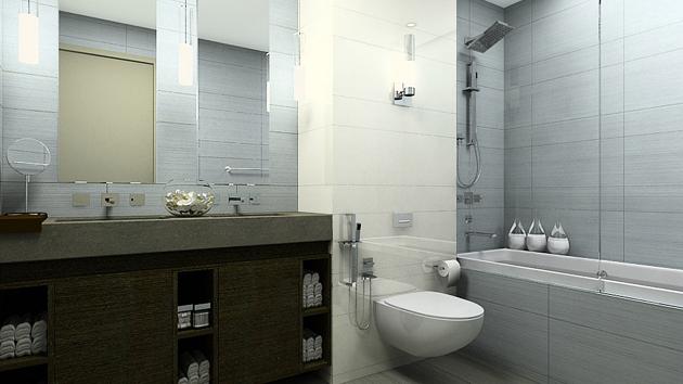 Peachy A Look At 15 Sophisticated Gray Bathroom Designs Home Design Lover Inspirational Interior Design Netriciaus