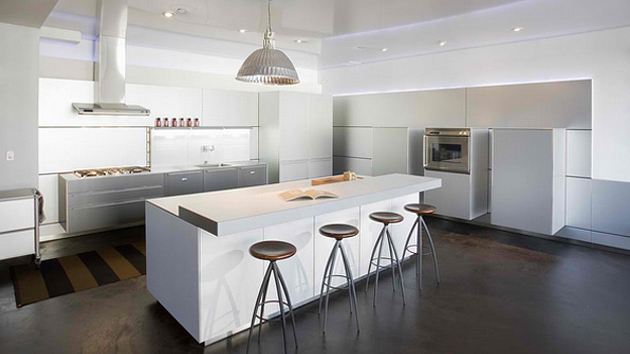 modern white kitchen design ideas