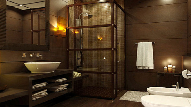 Remarkable 20 Beautifully Done Wooden Bathroom Designs Home Design Lover Largest Home Design Picture Inspirations Pitcheantrous