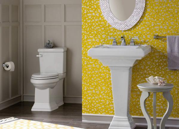 Best Yellow Bathroom Design Ideas Home Interior Help