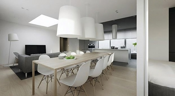 Modern Minimalistic Dining Room