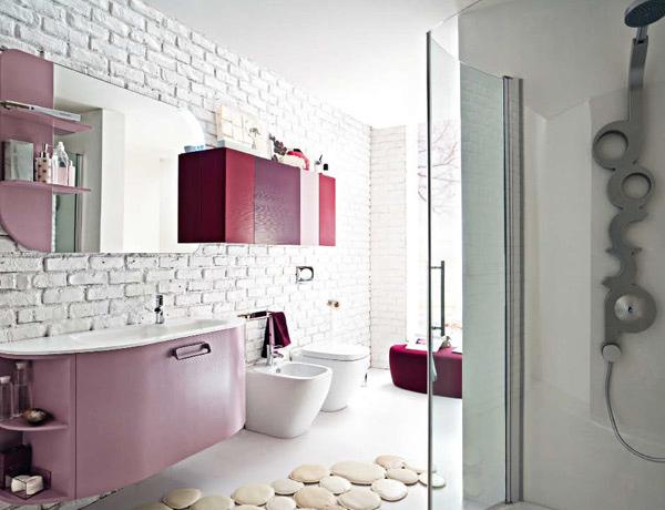 purple Bathroom Designs