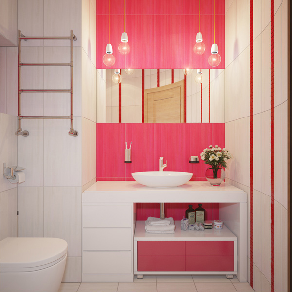 Light Pink Bathroom