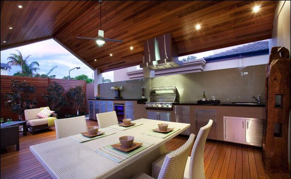 15 Outdoor Kitchen Designs For A Great Cooking Aura | Home Design