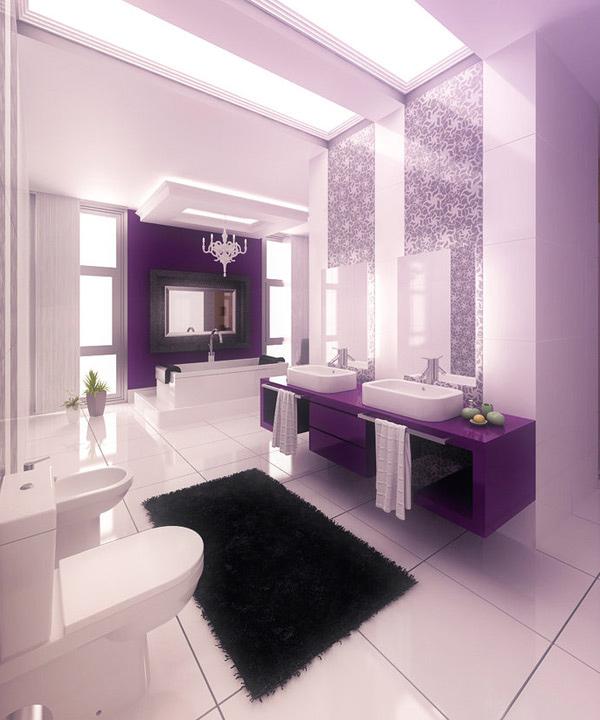 lavender bathroom ideas