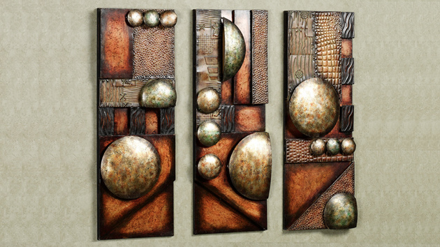 15 Modern and Contemporary Abstract Metal Wall Art Sculptures  Home Design Lover
