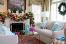 christmas fireplace decor