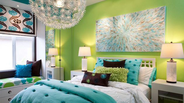 15 Refreshing Green Bedroom Designs Home Design Lover. Green Bedroom Design Ideas