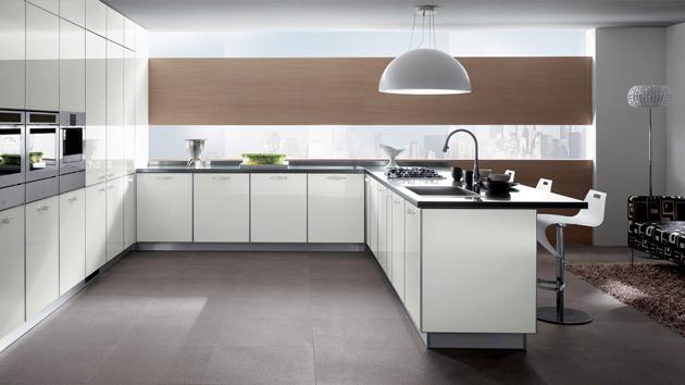 simple and minimalist kitchen space designs  home design lover,Contemporary Minimalist Kitchen Design,Kitchen cabinets