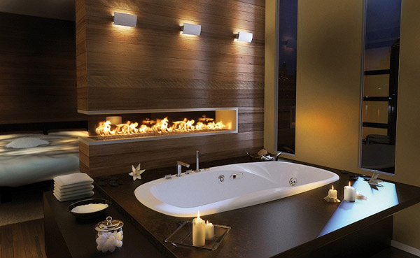 Romantic Bathroom design