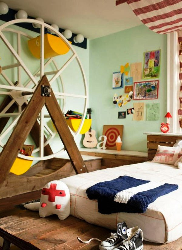 Circus Themed. 15 Boys Themed Bedroom Designs   Home Design Lover