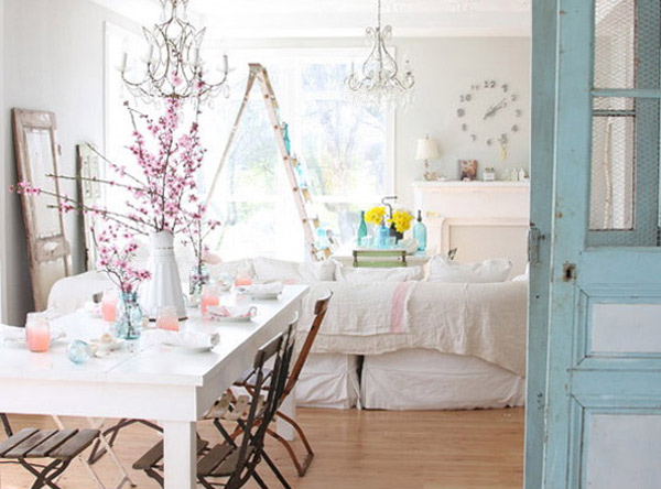 Dreamy Whites Dining