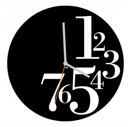 Abstract Modern Clock