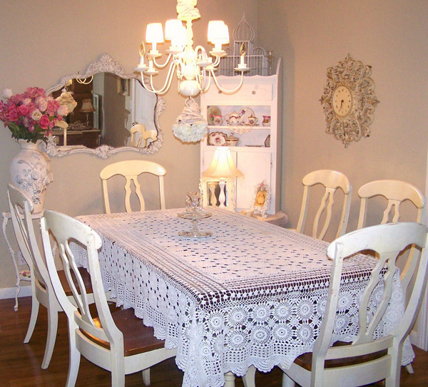 Shabby Chic Dining Area