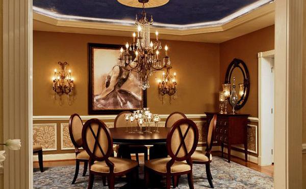 Feminine Dining Room