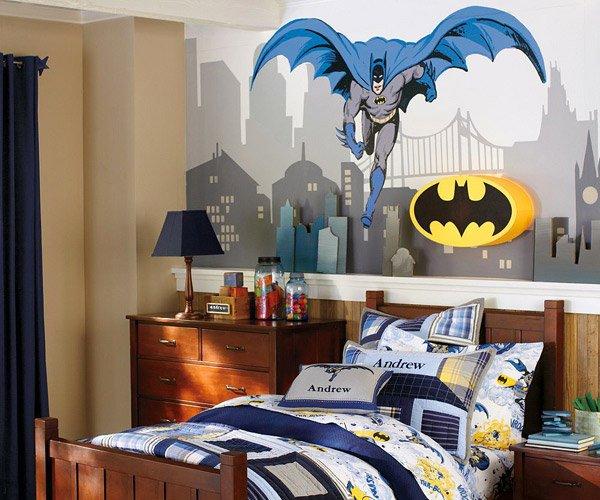 Batman Bedroom. 15 Boys Themed Bedroom Designs   Home Design Lover