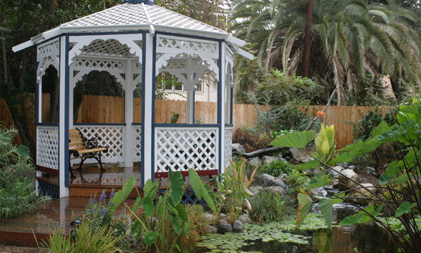 Gaze at Natures Beauty Thru These 15 Gazebo Designs Home Design