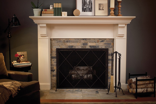 timeless appeal - Mantel Design Ideas