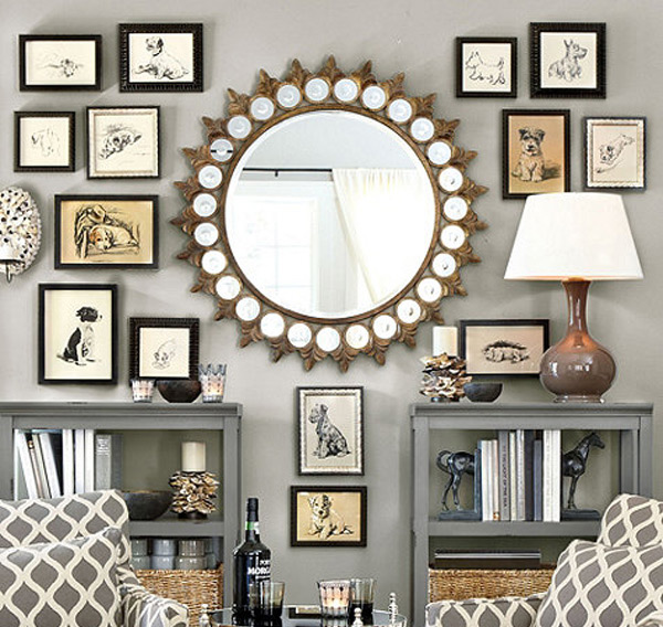 Crown Sunburst Mirror