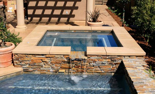 15 Fabulous Swimming Pool With Spa Designs | Nbws Blog