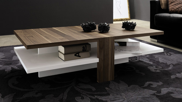 modern wooden center tables