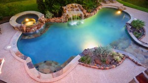 pools with spa