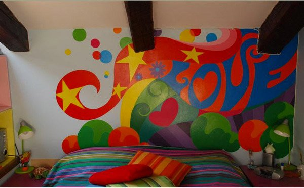 Funky Retro Bedroom Designs