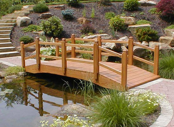 15 whimsical wooden garden bridges home design lover