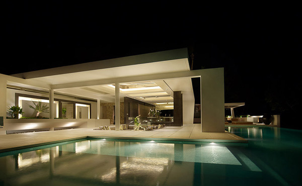 Pools lighting