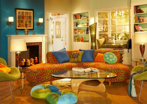 15 Bohemian Inspired Living Rooms | Home Design Lover