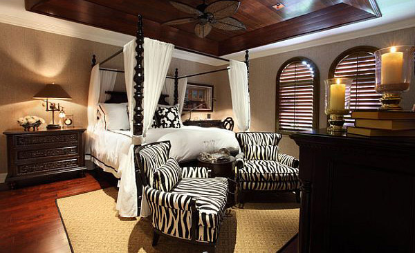 Beautiful African Canopy Bed