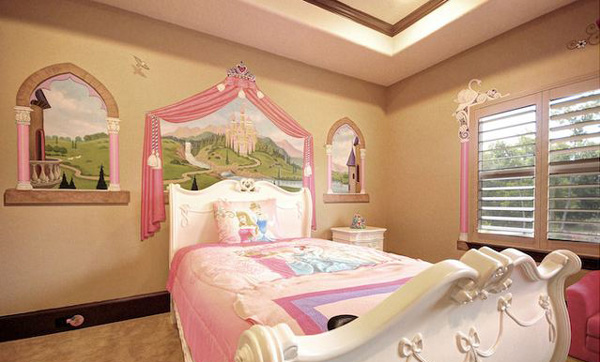 Princess Themed Bedroom Fairmont Homes