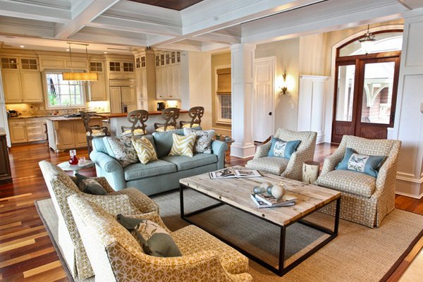 traditional living room designs