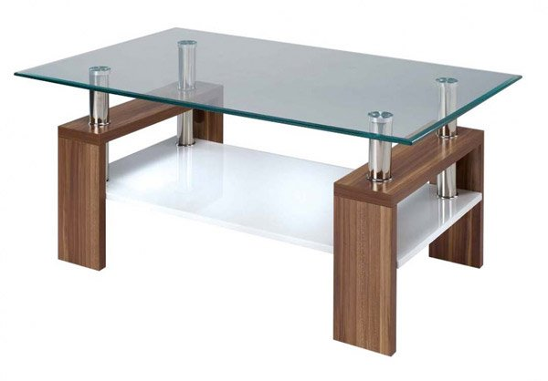 Rectangular Glass Top - 15 Stylish Rectangular Glass Top Coffee Tables Home Design Lover