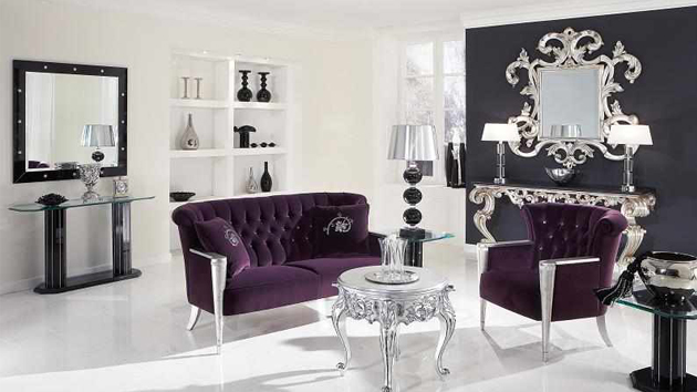 15 baroque designed living rooms home design lover - Baroque Home Decor