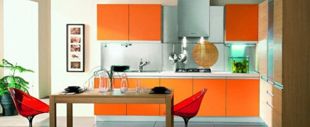 bold highgloss kitchen
