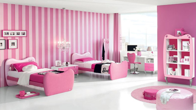 15 Pretty And Enchanting Girls Themed Bedroom Designs Home Design Lover