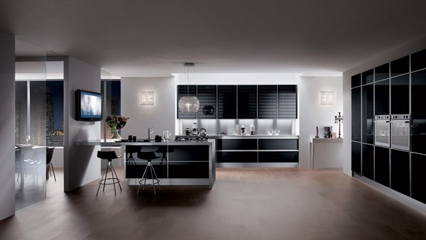 20 modern kitchen color schemes | home design lover