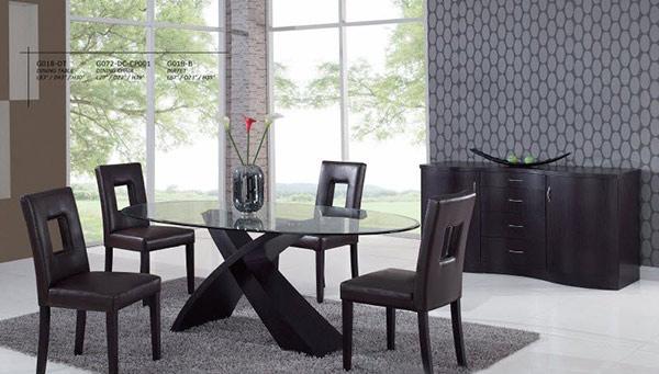 15 Sophisticated Modern Dining Room SetsHome Design Lover