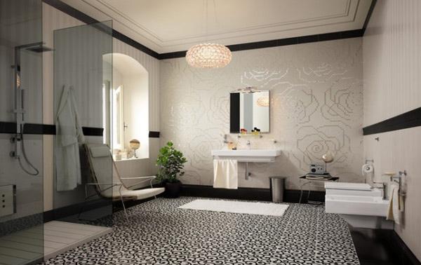 floral accent tiles
