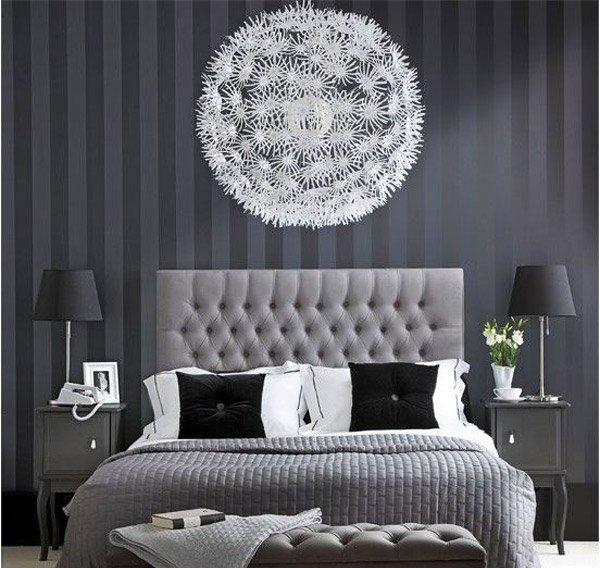 Modern Monochrome Bedroom. 15 Black and White Bedroom Ideas   Home Design Lover