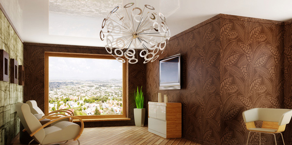 Use light as décor