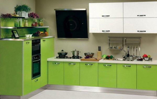 jealous green  jealous green jealous green: modular kitchen colors