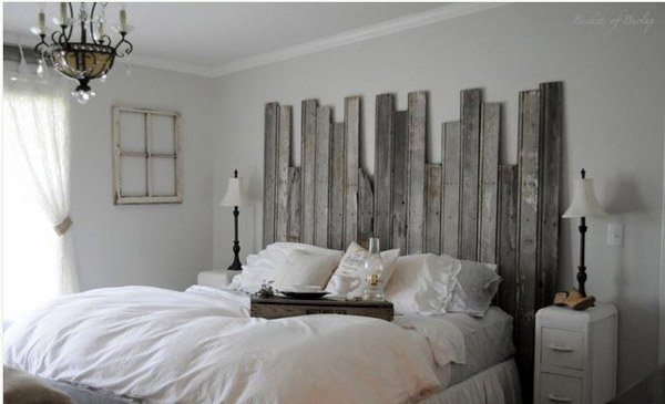 Rustic Headboard. 15 Rustic Bedroom Designs   Home Design Lover